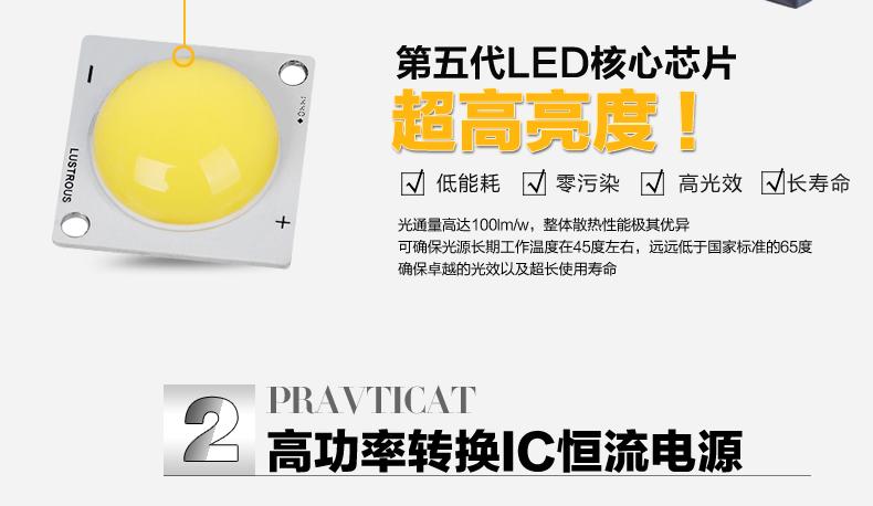 LED300W投光灯芯片
